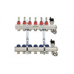 Колектори за подово отопл. EMMETI - 7 извода