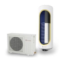 Термопомпени бойлери ЕЛДОМ, 120л., със соларна серпентина, неръждаеми, вертикални