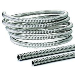 Гъвкави гофрирани тръби от неръждаема стомана DN12